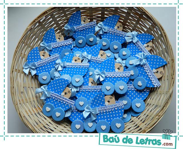 ZONA PURPURA: Fofuchas Bebe Para Baby Shower En Foami y Goma eva ...